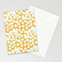 Morning Medicine in Orange Stationery Cards
