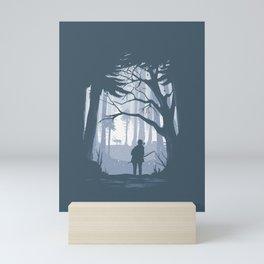 Ellie Hunting Mini Art Print