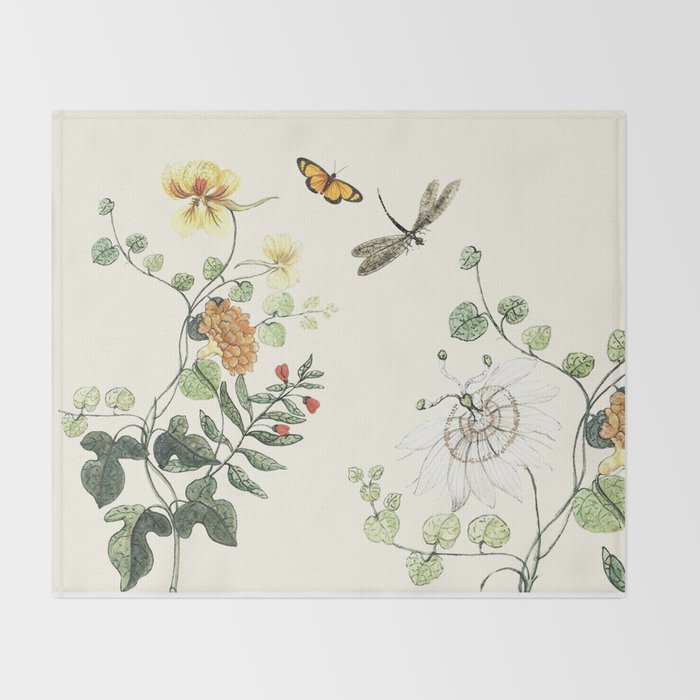 Wild and free Throw Blanket
