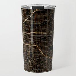 Tulsa map, Oklahoma Travel Mug