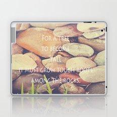 Rocks with words Laptop & iPad Skin