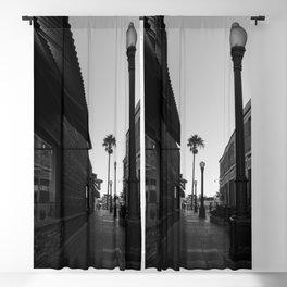 Newport Boardwalk Morning II Blackout Curtain