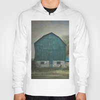 rustic Hoodies featuring Rustic Barn by Pure Nature Photos