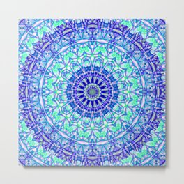 Tribal Mandala G389 Metal Print