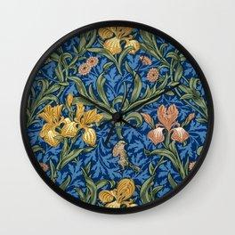 "William Morris ""Iris"" 1. Wall Clock"