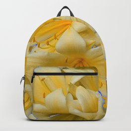 IVORY COLOR CLIVIA FLOWERS Backpack