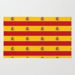 Flag of spain 2-spain,flag,flag of spain,espana, spanish,plus ultra,espanol,Castellano,Madrid,prado Rug