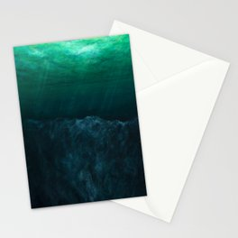 The Depth of Phthalo Stationery Cards