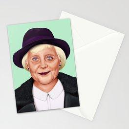 Hipstory -  Angela Merkel Stationery Cards