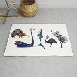 Australian animals Rug