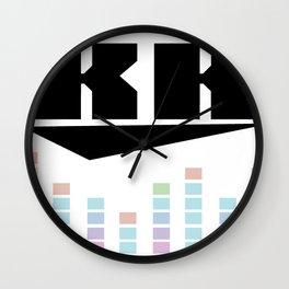 DJ KK v3 Wall Clock