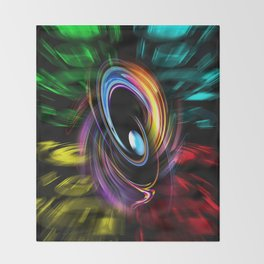 Abstract perfection 46 Throw Blanket