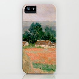 Haystack at Giverny iPhone Case
