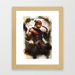 League of Legends LEE SIN Framed Art Print