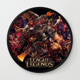 League Wall Clock