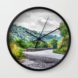 The breath of autumn Wall Clock