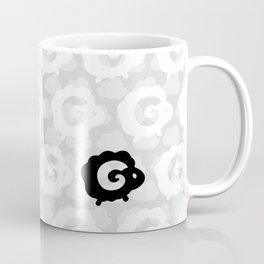 Black Sheep Pattern Coffee Mug