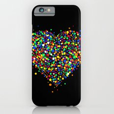 Love made of colorful dots Slim Case iPhone 6s