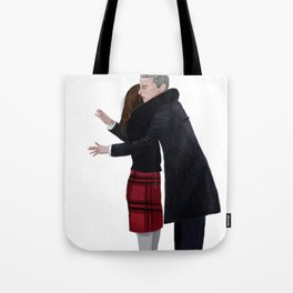 Not a Hugging Person Tote Bag