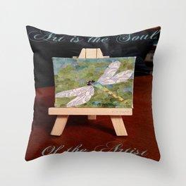 """ Artists Soul "" Throw Pillow"