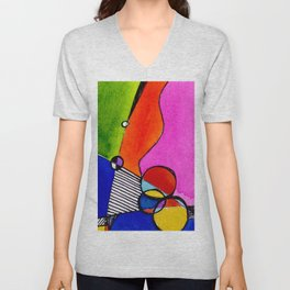 Magical Thinking 7A1 by Kathy Morton Stanion Unisex V-Neck