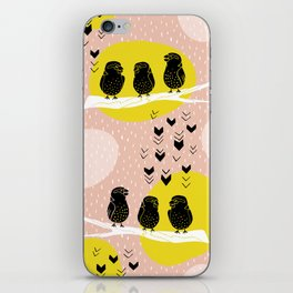 The Finch Clique - Peach iPhone Skin