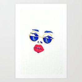 GRL Art Print