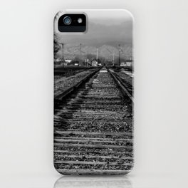 Wrong Side of the Tracks iPhone Case