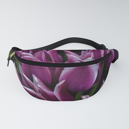 Purple Tulip Style by Reay of Light Fanny Pack