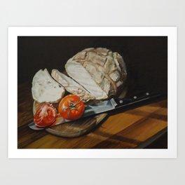 Light Lunch Art Print