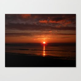 sunset at maidens Canvas Print