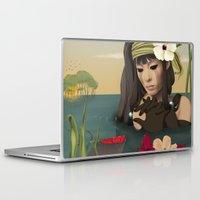 sad Laptop & iPad Skins featuring Sad by ANVIK