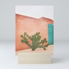 Strong Desert Cactus Mini Art Print