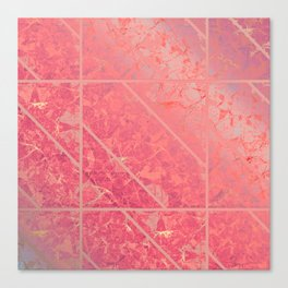 Pink Marble Texture G281 Canvas Print