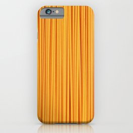 Spaghetti, pasta texture iPhone Case