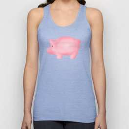 Pink Piggies Unisex Tank Top