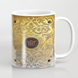 Golden Swirls Book Coffee Mug