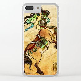 Suren of the Silk Road Clear iPhone Case