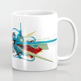 3d graffiti - 'Hyper Coffee Mug