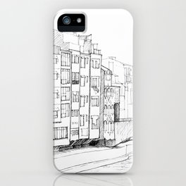 Girona on the River iPhone Case