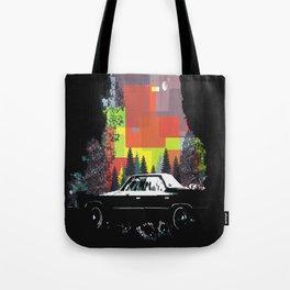Car in the dark Tote Bag