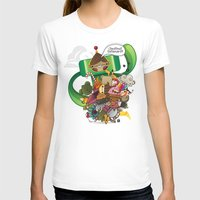katamari T-shirts featuring Chestnut Katamari by Ed Warner