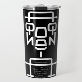 Apophenia Travel Mug