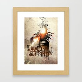 Deadly Scorpion Framed Art Print