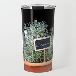 Lavender Plant Travel Mug