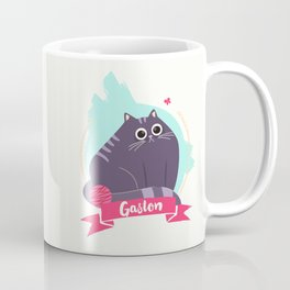 Gaston the moody cat Coffee Mug
