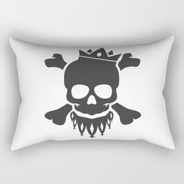 Skull King Rectangular Pillow