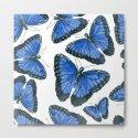 Blue morpho butterfly pattern design by katerinamitkova