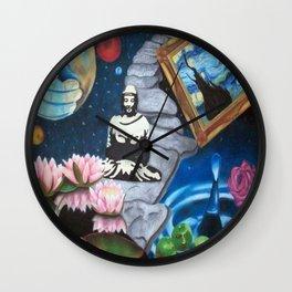 Meditate Wall Clock
