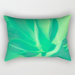 Aloe Vera Plant Rectangular Pillow